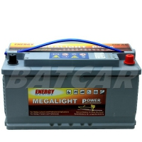 Megalight Power AGM Batterie 12V 100Ah
