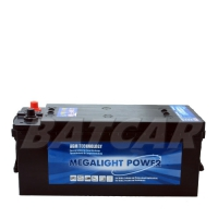 Megalight Power AGM Batterie 12V 130Ah