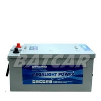 Megalight Power AGM Batterie 12V 210Ah