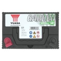 Yuasa U1 12V 30Ah Starterbatterie Gartenmaschinen Batterie U1-60M