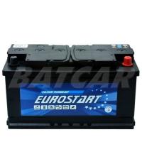 Eurostart 12V 100Ah 850 A/EN +Pol rechts