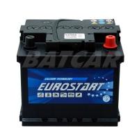 Eurostart 12V 44Ah 400 A/EN +Pol rechts