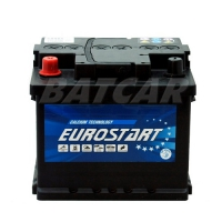 Eurostart 12V 44Ah 400 A/EN +Pol links