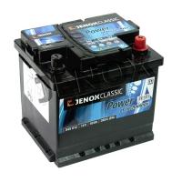 Jenox Classic 12V 45Ah 360A/EN +Pol rechts