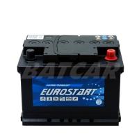 Eurostart 12V 60Ah 580 A/EN +Pol rechts