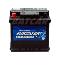 Eurostart 12V 50Ah 470 A/EN +Pol links