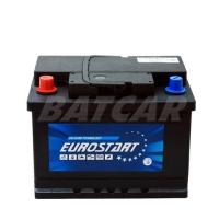 Eurostart 12V 55Ah 470 A/EN +Pol links