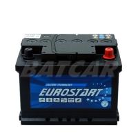 Eurostart 12V 55Ah 470 A/EN +Pol rechts