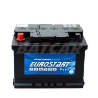 Eurostart 12V 60Ah 580 A/EN +Pol links