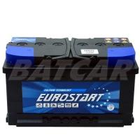 Eurostart 12V 80Ah 730 A/EN +Pol rechts