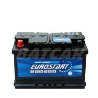 Eurostart 12V 75Ah 700 A/EN +Pol links