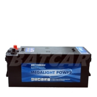 Megalight Power AGM Batterie 12V 140Ah