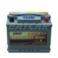 Megalight Power AGM Batterie 12V 75Ah