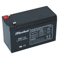 Novelbat 12V 7Ah AGM VRLA Batterie Gel Akku Scooter USV Notstromakku