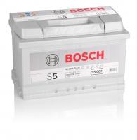 Bosch S5 007 74Ah 750 A/EN  +Pol rechts
