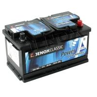 Jenox Classic 12V 80Ah 700A/EN +Pol rechts