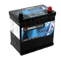 Jenox Classic 12V 45Ah 360A/EN Jap +Pol rechts