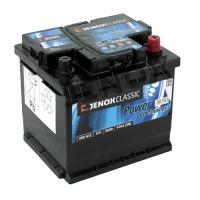 Jenox Classic 12V 50Ah 470A/EN +Pol rechts