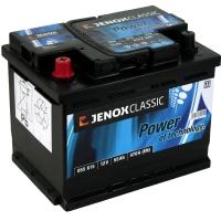Jenox Classic 12V 55Ah 470A/EN +Pol links