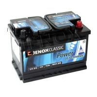 Jenox Classic 12V 74Ah 680A/EN +Pol rechts