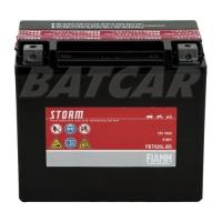 Fiamm FBTX20L-BS Storm AGM Batterie 12V 18Ah