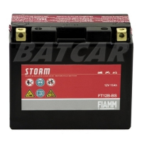 Fiamm FT12B-BS Storm AGM Batterie 12V 11Ah