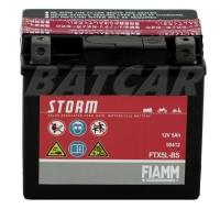 Fiamm FTX5L-BS Storm AGM Batterie 12V 5Ah