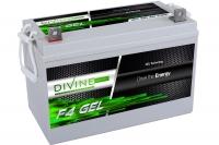 Divine Energy F4 GEL 100Ah 1100Wh Flachpol