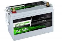 Divine Energy F4 GEL 120Ah 1350Wh Rundpol