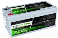 Divine Energy F4 GEL 250Ah 2800Wh Rundpol