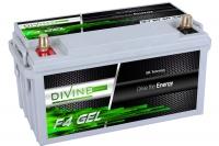 Divine Energy F4 GEL 80Ah 900Wh Rundpol