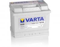 Varta Silver Dynamic D39 63Ah 610A/EN +Pol links