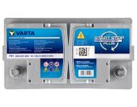 Varta Start-Stop Plus F21 AGM 12V 80Ah 800A/EN +Pol rechts