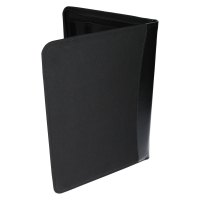 Aktenmappen Konferenzmappe DIN A4 Reißverschluss Schwarz Edle Aktentasche TJKR 04213