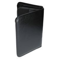 Schreibmappe Konferenzmappe DIN B5 Reißverschluss Schwarz Edle Ausführung NEU TKC04183