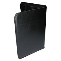 Schreibmappe Konferenzmappe DIN A4 Reißverschluss Schwarz Edle Ausführung NEU TKOK04237
