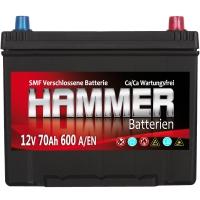 Autobatterie 70Ah + Rechts Hammer Asia Japan
