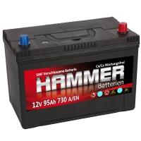 Autobatterie 95Ah + Rechts Hammer Asia Japan