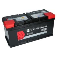 Fiamm Titanium 12V 110Ah 950A/EN +Pol rechts L6 110