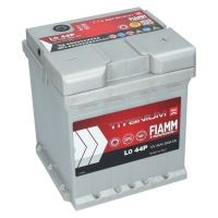 Starterbatterie 44Ah 390A/EN Fiamm Titanium PRO  L0 44P FIAT