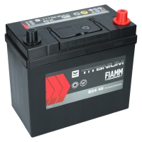 Fiamm Titanium Black 45Ah Japan B24 45 +R