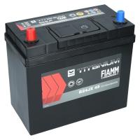 Fiamm Titanium Black 45Ah Japan B24JX 45 +L