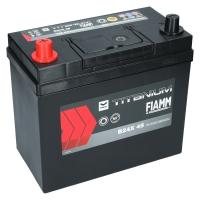 Fiamm Titanium Black 45Ah Japan B24X 45 +L