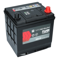 Fiamm Titanium Black 50Ah Japan D20 50 +R