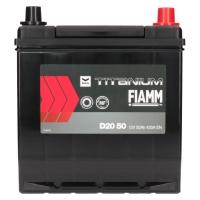 Fiamm Titanium Black 50Ah Japan D20 50 +R
