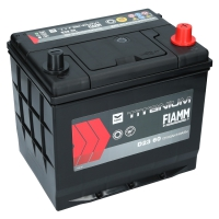 Fiamm Titanium Black 60Ah Japan D23 60 +R