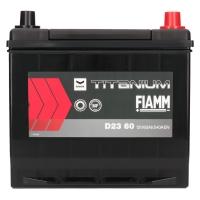 Fiamm Titanium Black 60Ah Japan D23 60 +R