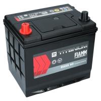 Fiamm Titanium Black 60Ah Japan D23X 60 +L