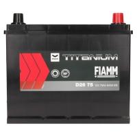 Fiamm Titanium Black 75Ah Japan D26 75 +R