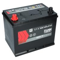 Fiamm Titanium Black 75Ah Japan D26X 75 +L